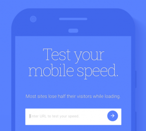 Think with Google Mobile Testing tool Screenshot